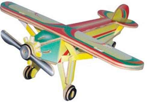 WOODEN TOY , WCK 3D puzzle Hornoplošník Louis barevný
