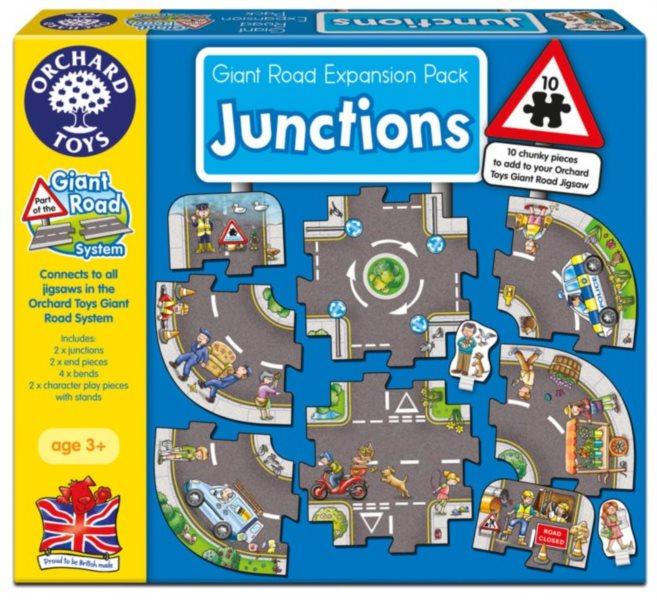 ORCHARD TOYS Hrací puzzle Křižovatky
