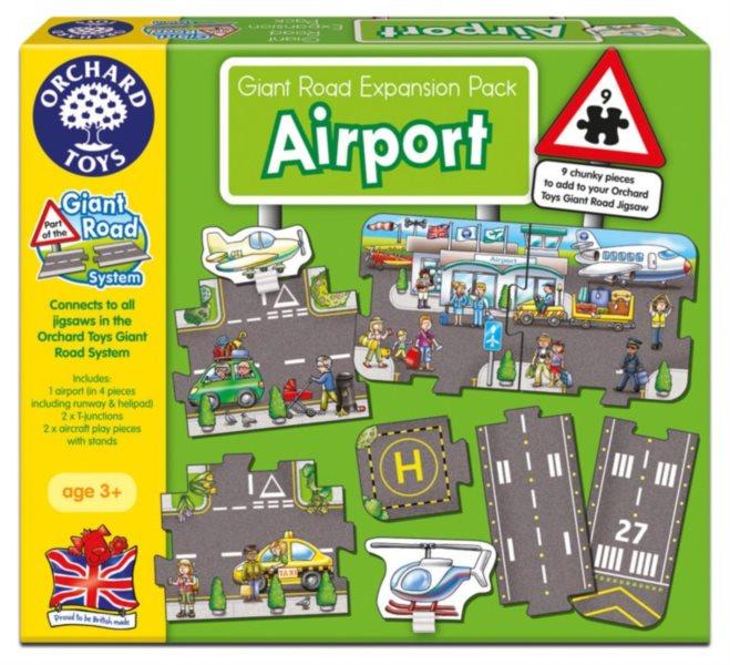 ORCHARD TOYS Hrací puzzle Letiště