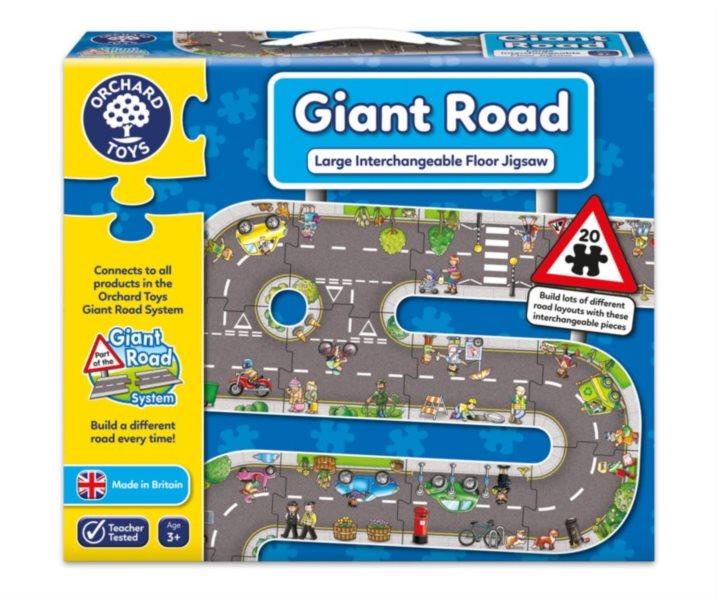 ORCHARD TOYS Hrací puzzle Silnice