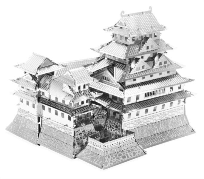 3D kovové puzzle METAL EARTH Hrad Himedži