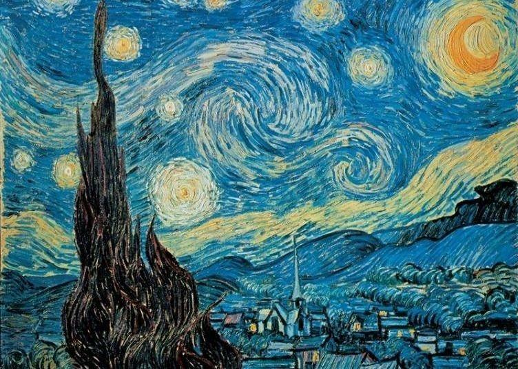 CLEMENTONI Puzzle Hvězdná noc 500 dílků