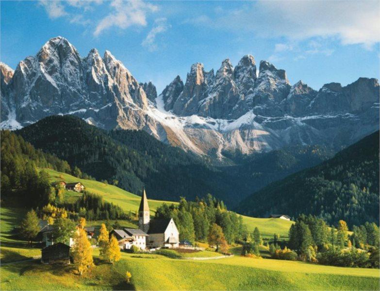 Puzzle RAVENSBURGER 2000 dílků - Italské Dolomity