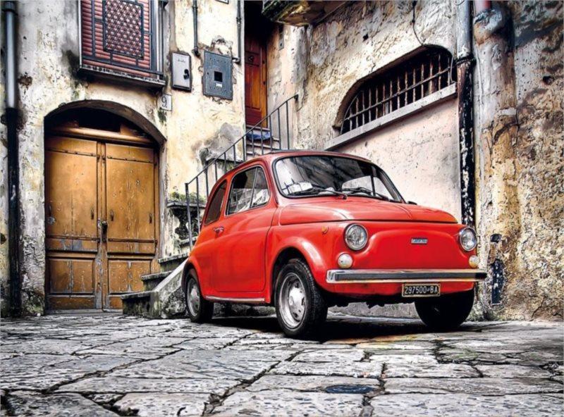 CLEMENTONI Puzzle Italský styl 500 dílků