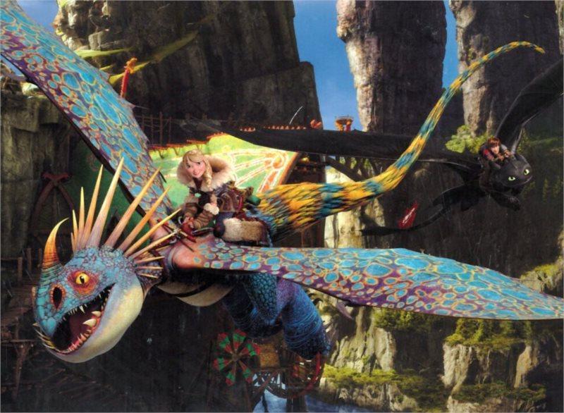 ALEXANDER puzzle Maxi Jak vycvičit draka 2 Hra na honěnou 20 dílků