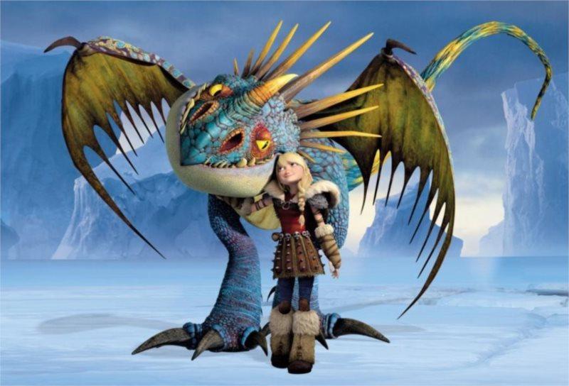 ALEXANDER puzzle Jak vycvičit draka 2 Teplo a zima 90 dílků