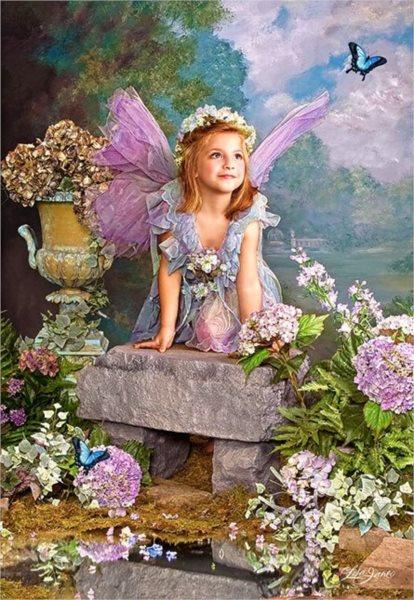 CASTORLAND Puzzle Jarní anděl 1500 dílků