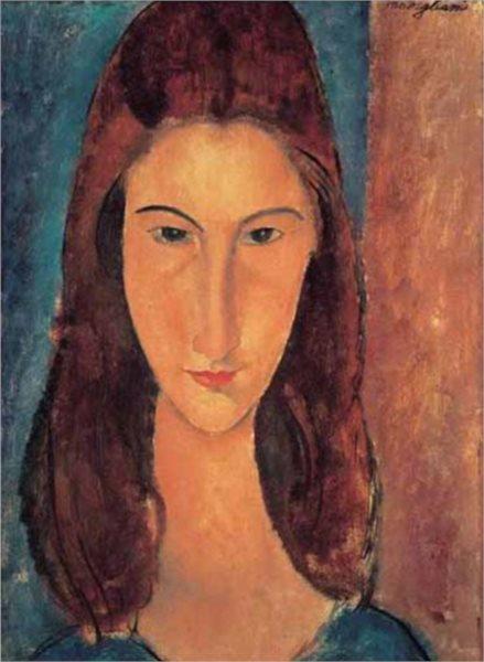 Puzzle EDITIONS RICORDI 1000 dílků - Modigliani, Jeanne Hebuterne