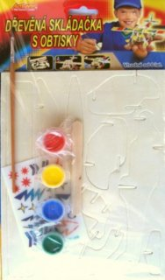 ARTLOVER 3D puzzle Jednoplošník s barvičkami