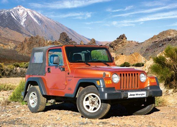 Dětské puzzle CASTORLAND 180 dílků - Jeep Wrangler