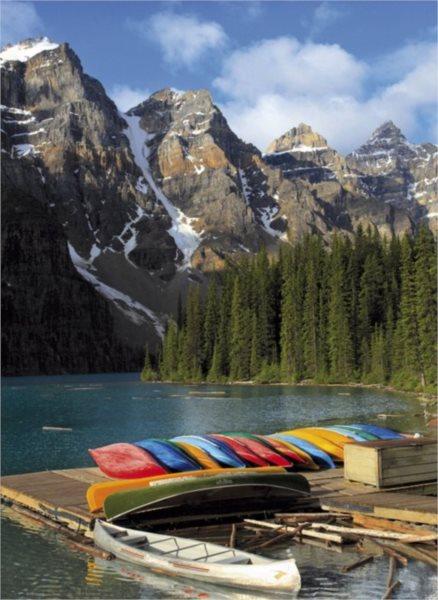 CLEMENTONI Puzzle Jezero Moraine, Kanada 1500 dílků