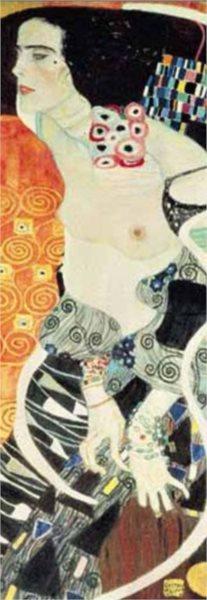 Vertikální puzzle EDITIONS RICORDI 1000 dílků - Klimt, Judith II.