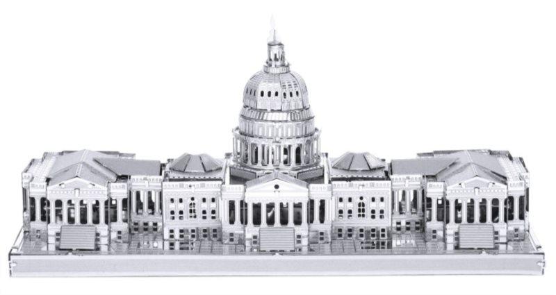 3D kovové puzzle METAL EARTH Kapitol, Washington