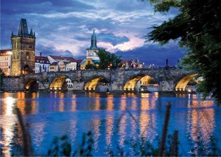D-TOYS Puzzle Karlův most, Praha 1000 dílků