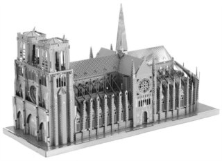 3D kovové puzzle METAL EARTH ICONX: Notre-Dame