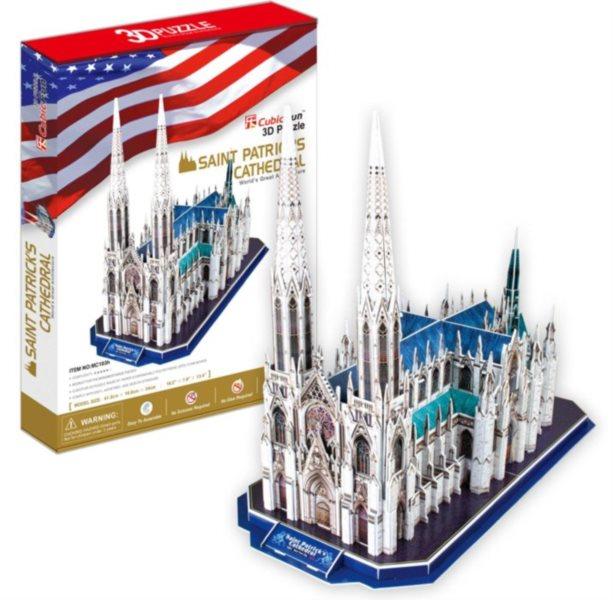 CUBICFUN 3D puzzle Katedrála svatého Patrika 117 dílků