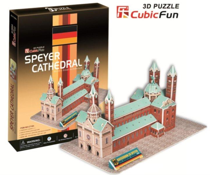CUBICFUN 3D puzzle Katedrála ve Špýru 41 dílků