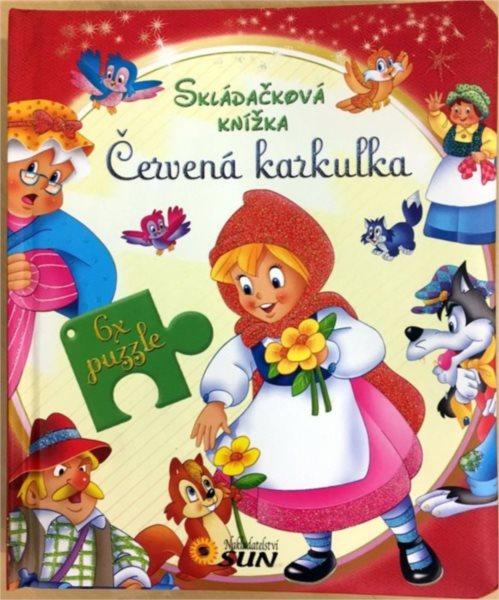 Nakladatelství SUN Kniha s puzzle: Červená Karkulka