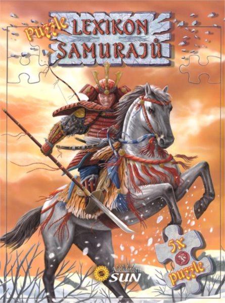 Nakladatelství SUN Kniha s puzzle: Lexikon samurajů 5x24 dílků