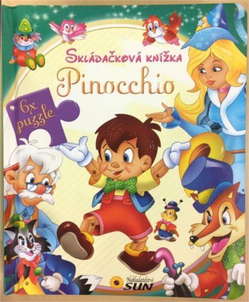 Nakladatelství SUN Kniha s puzzle: Pinocchio