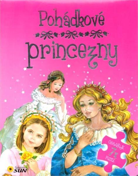 Nakladatelství SUN Kniha s puzzle: Pohádkové princezny