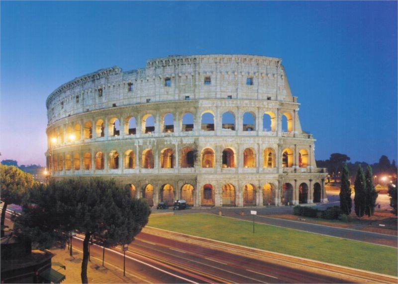 Puzzle CLEMENTONI 1000 dílků - Koloseum, Řím