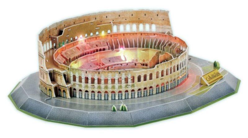 3D puzzle CUBICFUN - Koloseum, Řím - svítící LED 3D