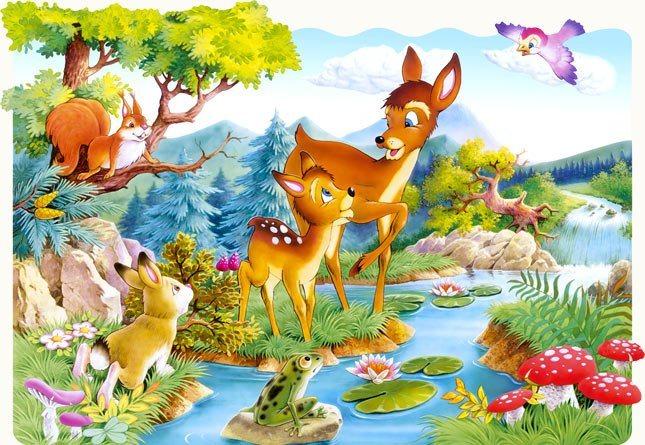 CASTORLAND Puzzle Koloušek (Srneček) MAXI 20 dílků