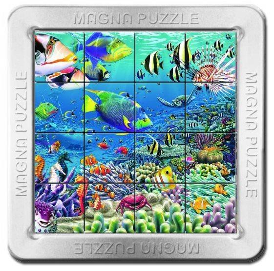 3D magnetické puzzle PIATNIK 16 dílků - Korálový útes