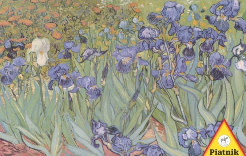 Puzzle PIATNIK 1000 dílků - V. Gogh: Kosatce