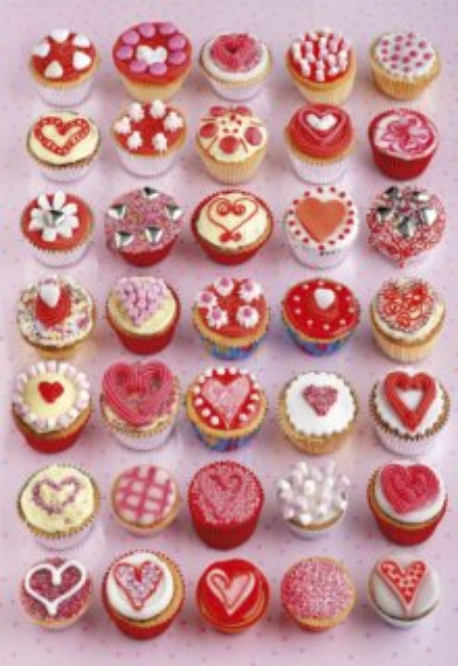EDUCA Puzzle Dortíky (Cupcakes) 1000 dílků