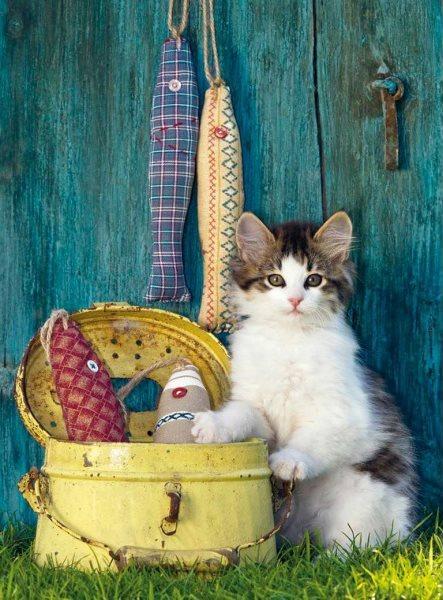 CLEMENTONI Puzzle Kotě 500 dílků