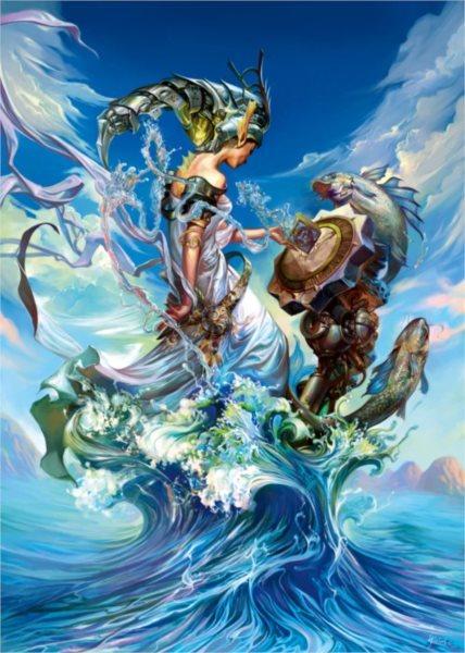 TREFL Puzzle Královna moří 2000 dílků
