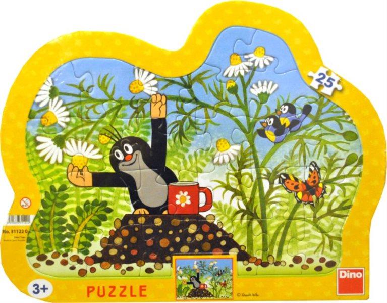 DINO Puzzle Krtek a heřmánkový čaj 25 dílků