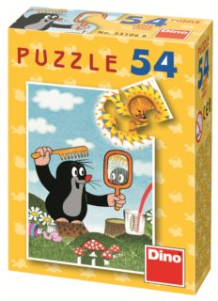 DINO Puzzle Krtek - dobré ráno 54 dílků