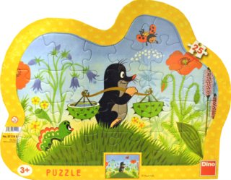 DINO Puzzle Krtek nese vodu 25 dílků