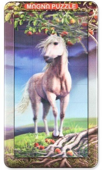 3D magnetické puzzle 32 dílků - Kůň