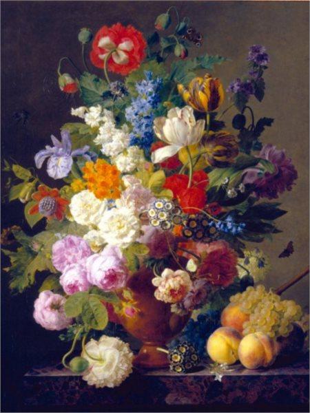 CLEMENTONI Puzzle Květinová váza 1000 dílků