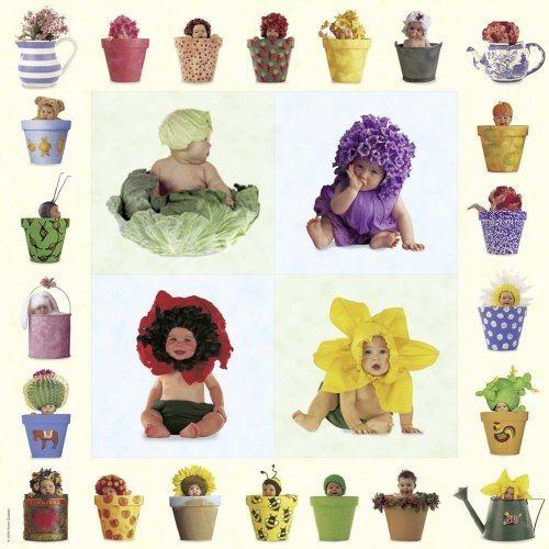 Puzzle SCHMIDT 1000 dílků - A.Geddes, Květinové děti