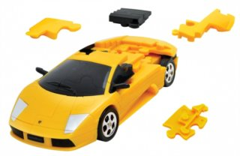 ALBI 3D puzzle Lamborghini 1:32 žluté