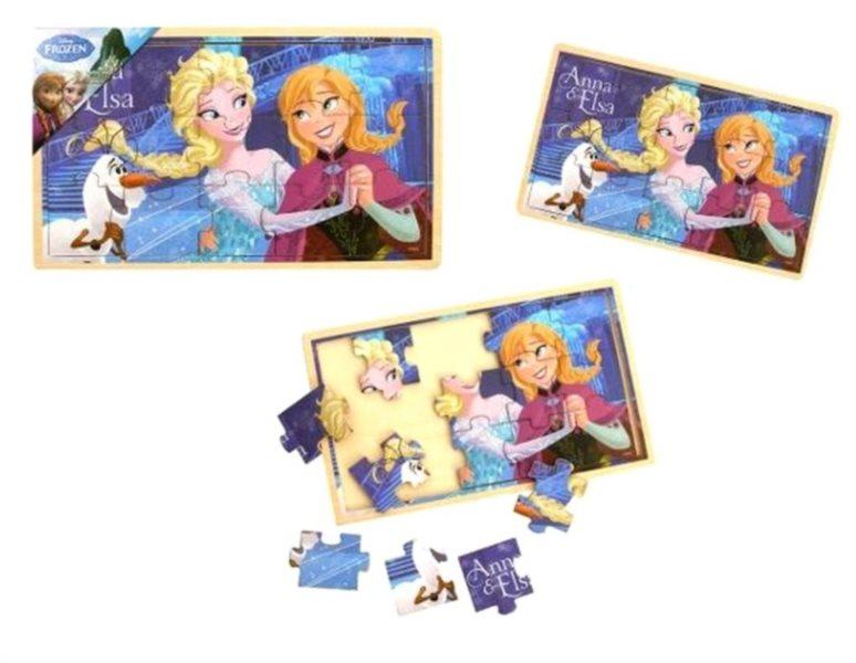 PLAYME Puzzle Ledové království: Anna a Elsa 15 dílků