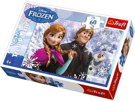 TREFL Puzzle Ledové království: Anna a Kristoff 60 dílků
