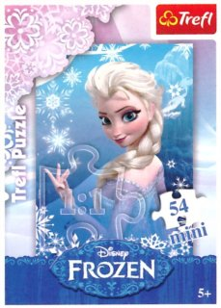 Dětské puzzle TREFL 54 dílků - Ledové království: Elsa