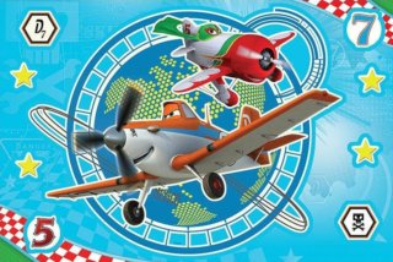 TREFL Svítící puzzle Magic Decor: Letadla 15 dílků