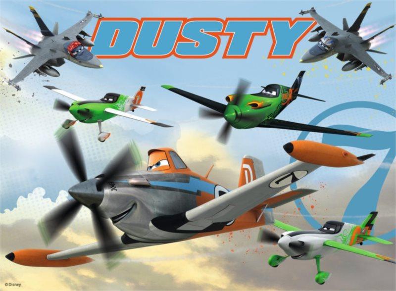 Dětské puzzle RAVENSBURGER 150 dílků - Letadla: Honička na obloze XXL
