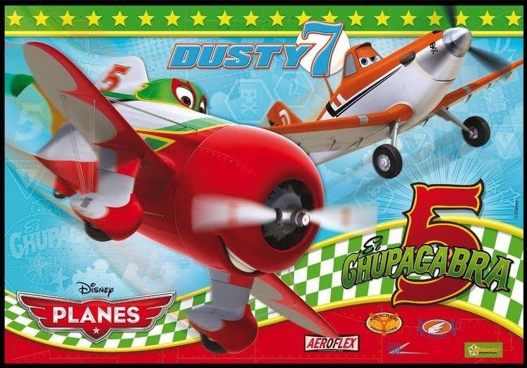 CLEMENTONI Puzzle Letadla: Prášek a El Chupacabra MAXI 104 dílků