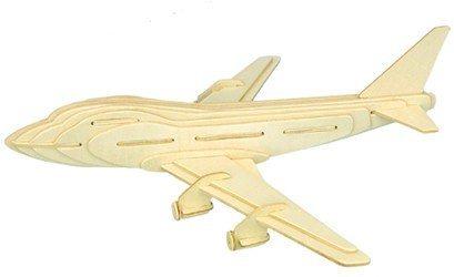 3D dřevěné puzzle Boeing 747 P039