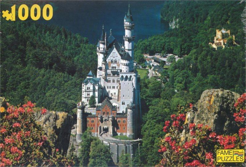 FAME Puzzle Letní Neuschwanstein 1000 dílků