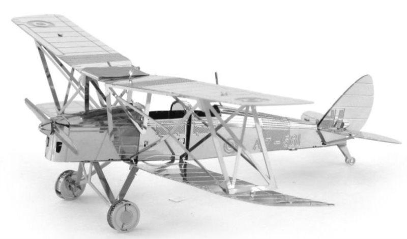 METAL EARTH 3D puzzle Letoun de Havilland Tiger Moth