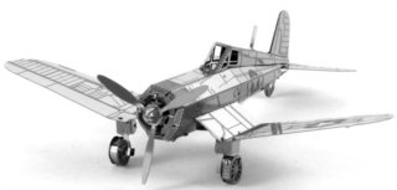 3D kovové puzzle METAL EARTH Letoun F4U Corsair